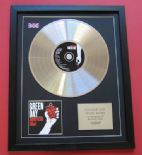 GREEN DAY - American Idiot CD / PLATINUM PRESENTATION DISC